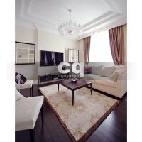 2014 частные интерьеры: фото дизайна гостиной в квартире в классическом стиле 102м