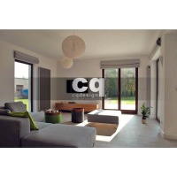 2015 частные интерьеры: фото дизайна в доме в современном стиле 240м2___2