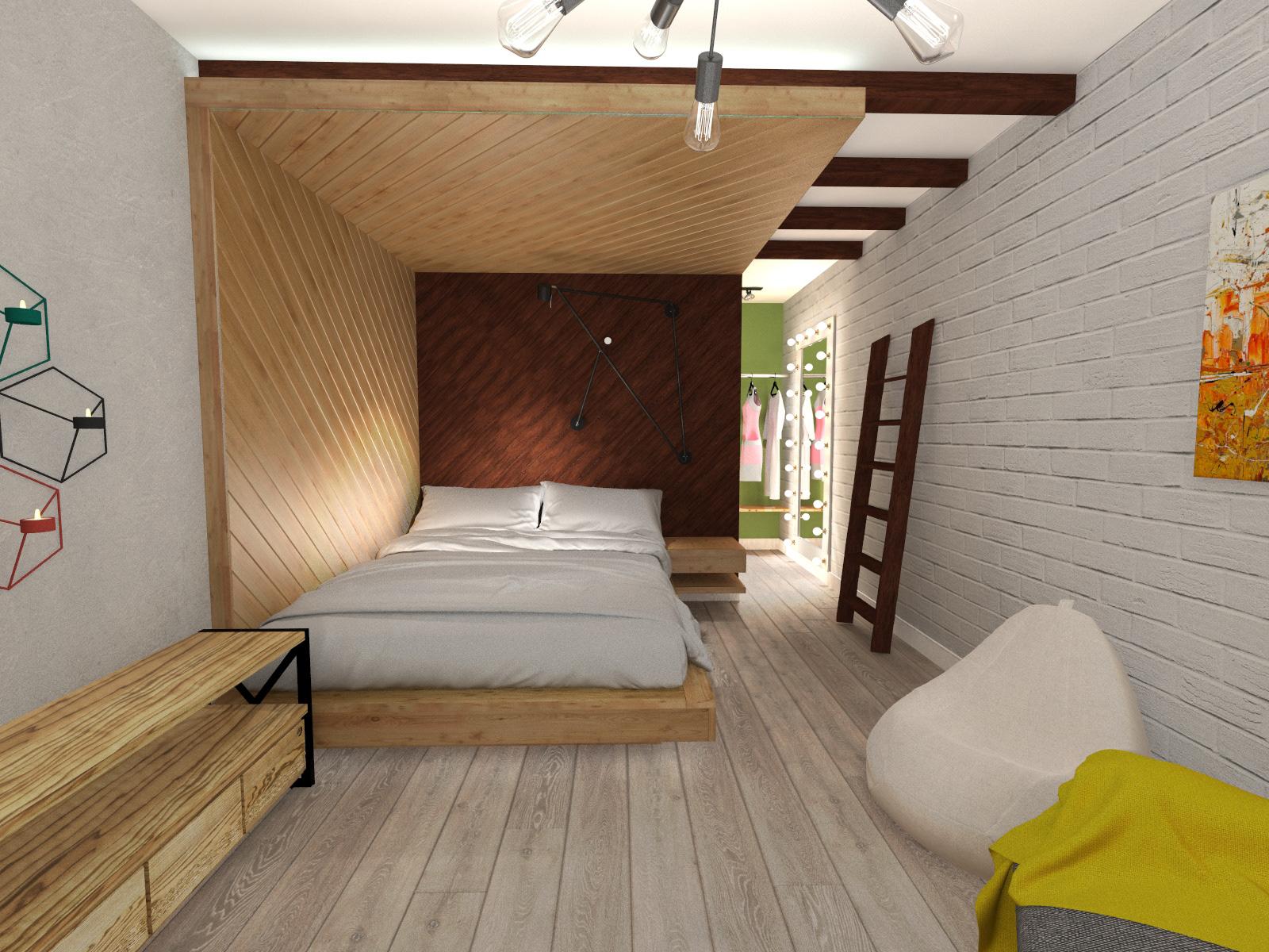 """Bedroom,ЖК""""Палермо"""" Днепр"""