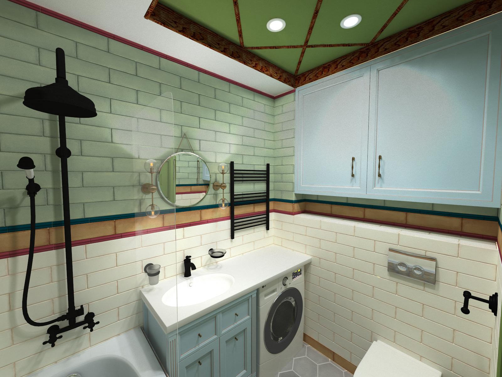 "Bathroom,ЖК""Палермо"" Днепр"