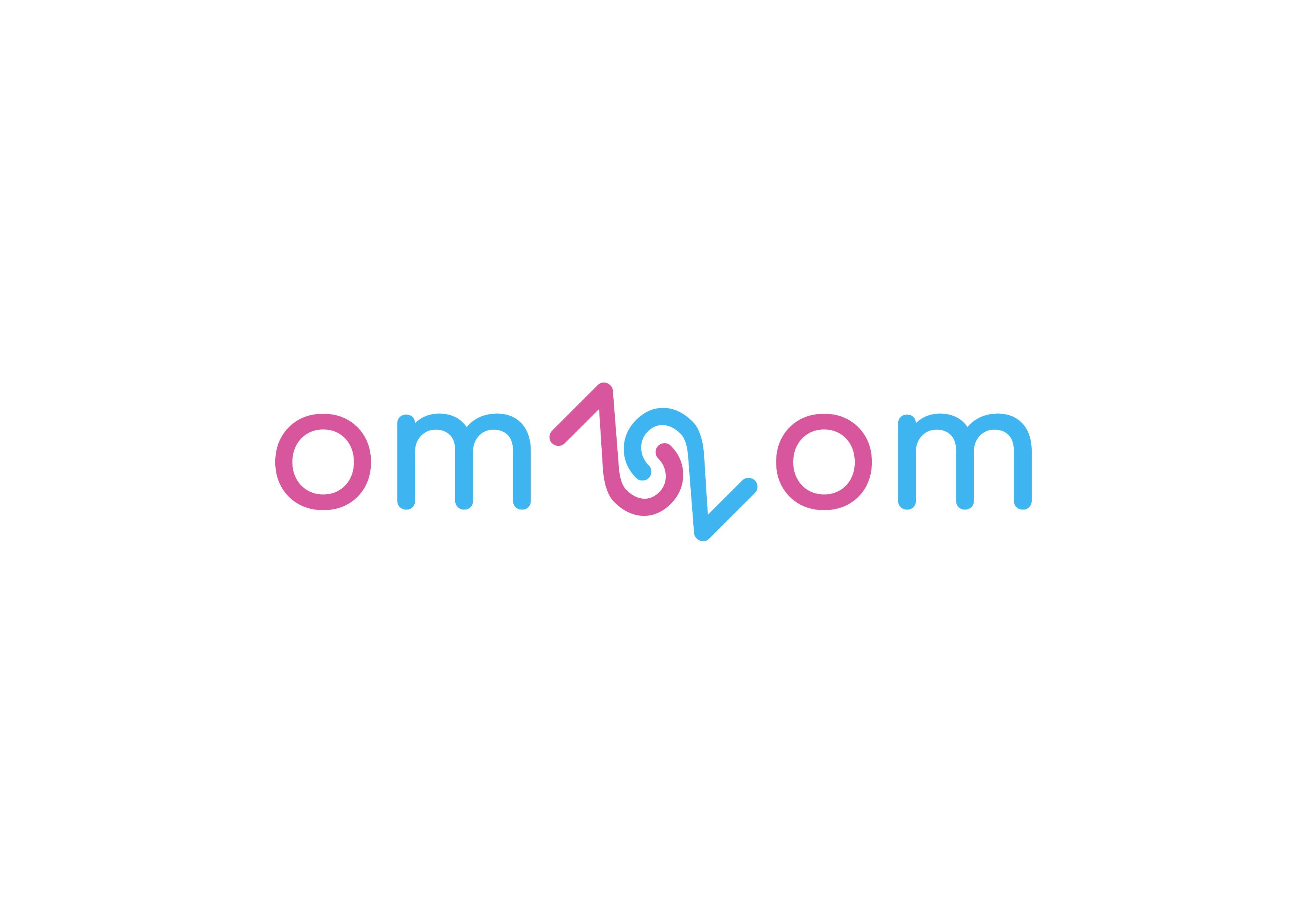 Разработка логотипа для краудфандинговой платформы om2om.md фото f_0695f57d0cfa325d.jpg