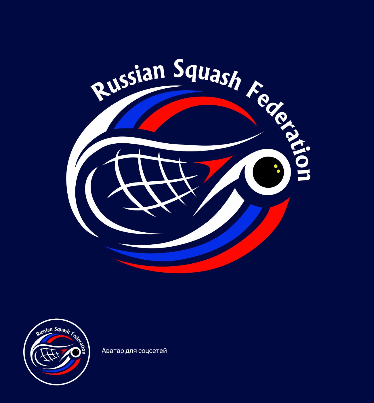 Разработать логотип для Федерации сквоша России фото f_0865f399c9b2870a.png
