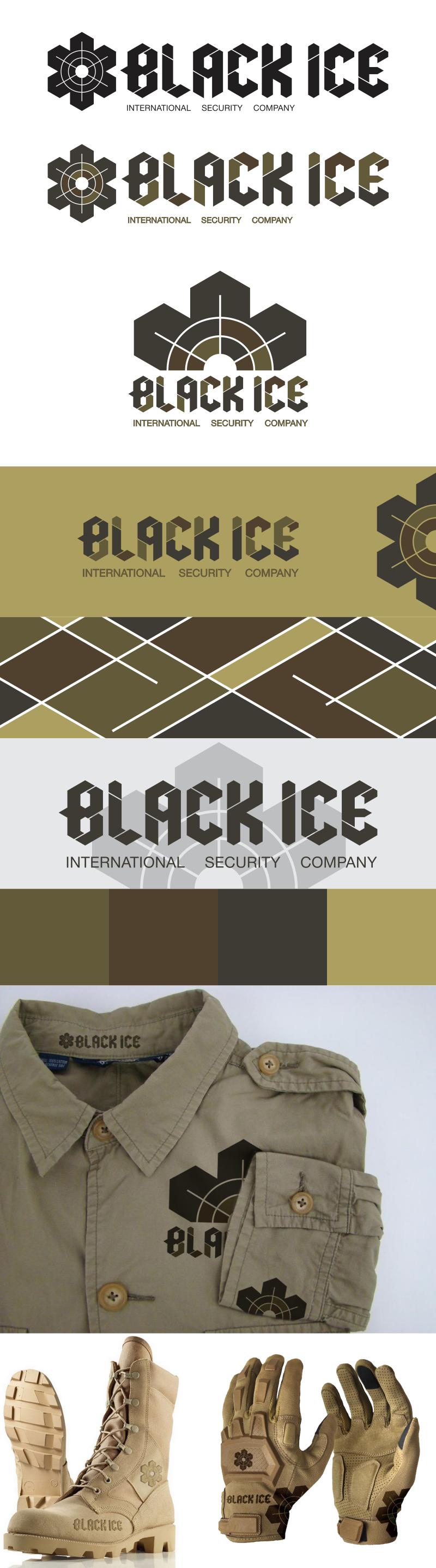 "Логотип + Фирменный стиль для компании ""BLACK ICE"" фото f_54157189e26dbaf4.png"
