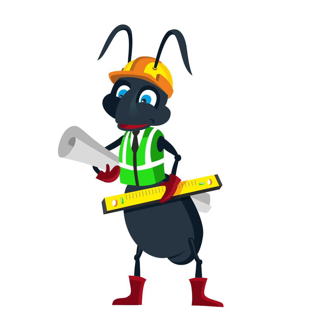"""Необходимо разработать дизайн персонажа """"Муравей"""" для сайта  фото f_956577ff7548387d.png"""