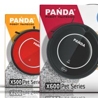 Концепция упаковки пылесосов PANDA X500/X600 Pet Series