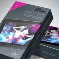 Концепция серии упаковок планшетов Ritmix