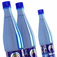 Этикетка питьевой воды Island