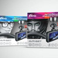 Концепция серии упаковок видеорегистраторов Ritmix
