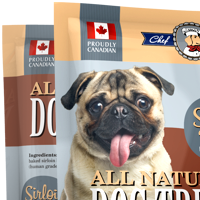 Серийная упаковка корма для собак Chef Max