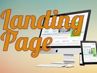 Landing page с качественным, стильным дизайном под ключ.