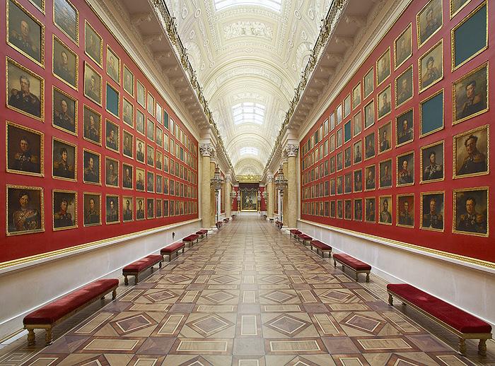 Эрмитаж. Галерея 1812 года.
