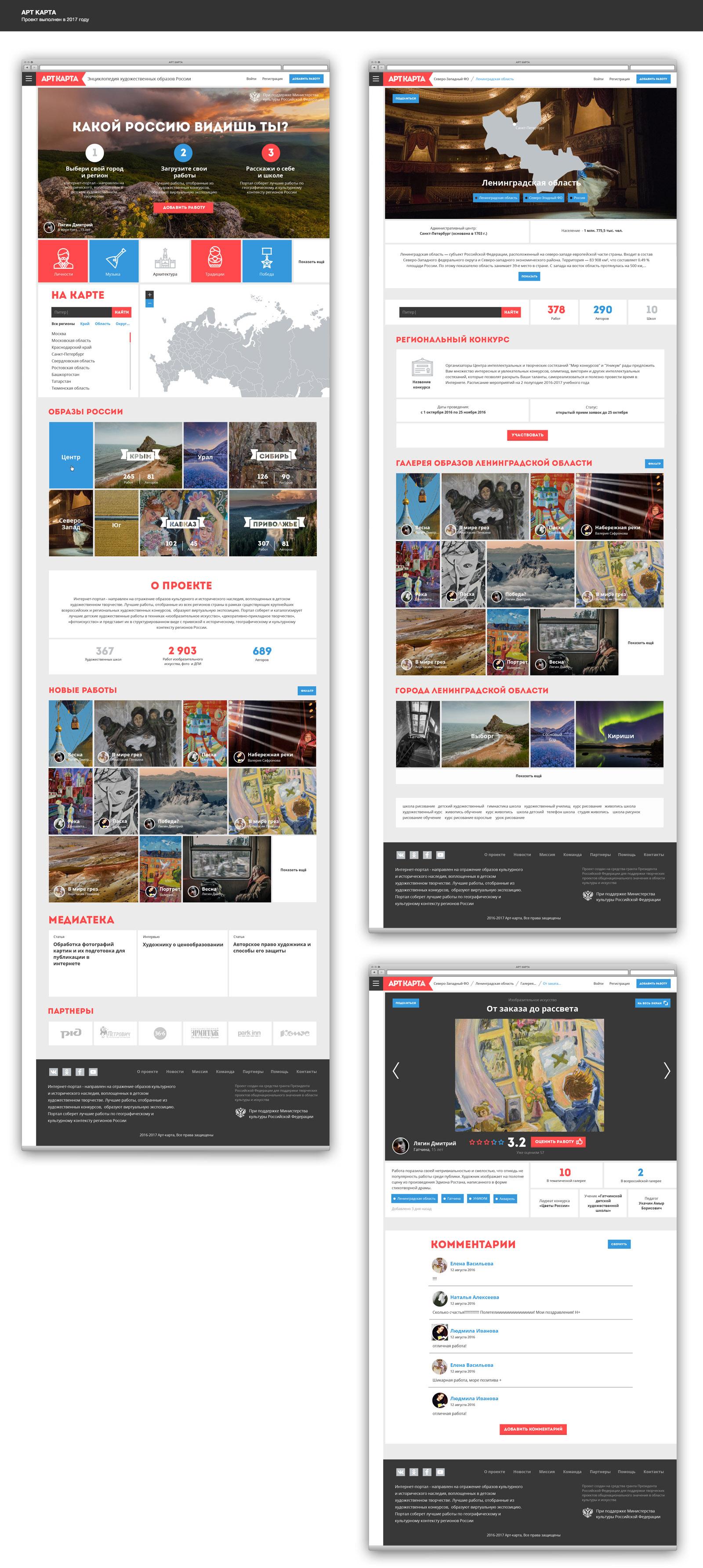 АРТ-КАРТА, фотосеть, социальная сеть, галерея