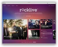 Rock live, музыкальный сервис, социальная сеть