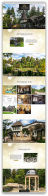 Николино, коттеджный поселок, промо-сайт