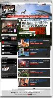 Adrenaline Rush, промо-сайт, блог