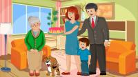 Социальный ролик о семье