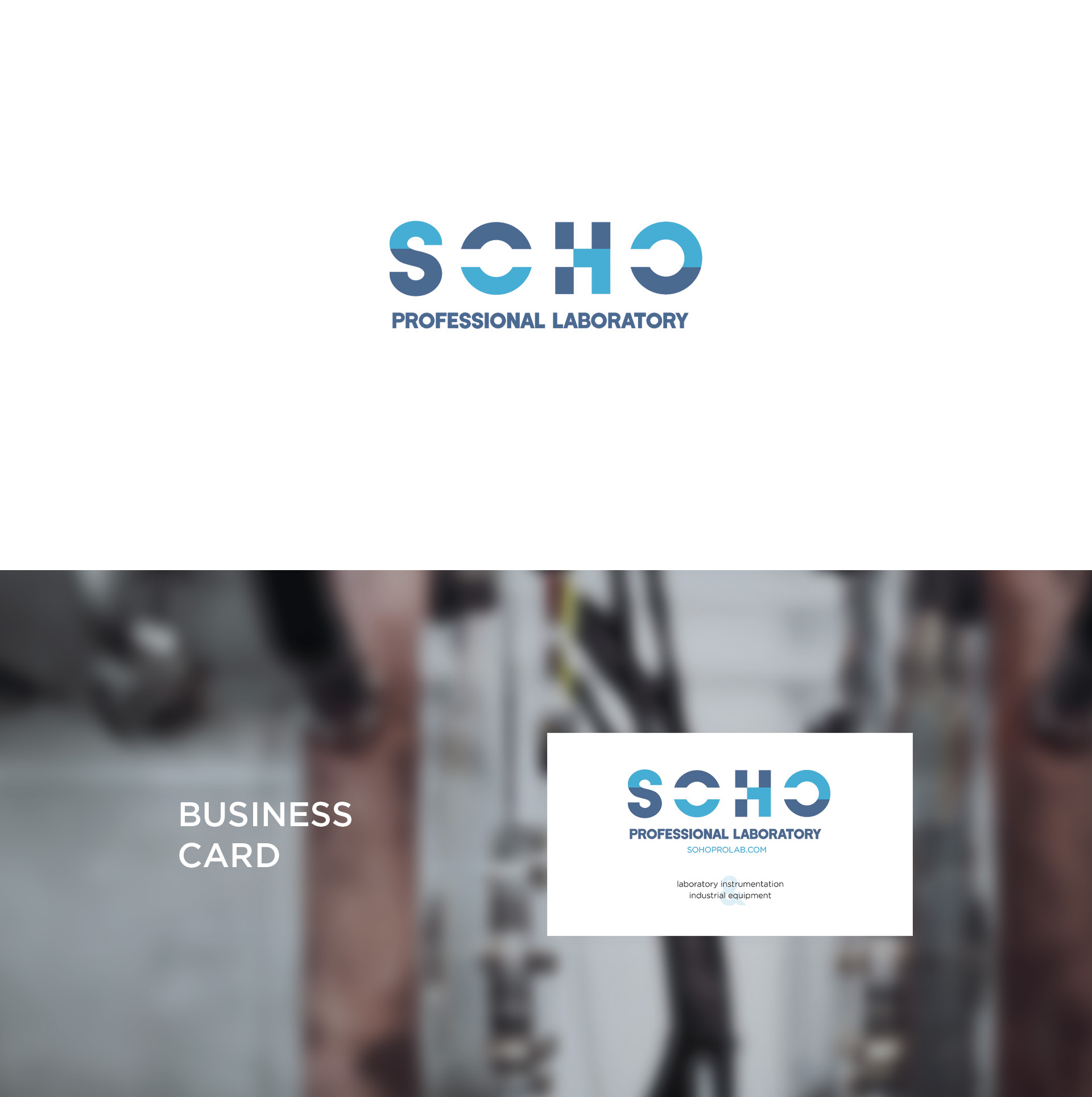 Logo/ Laboratory instrumentation & industrial equipment