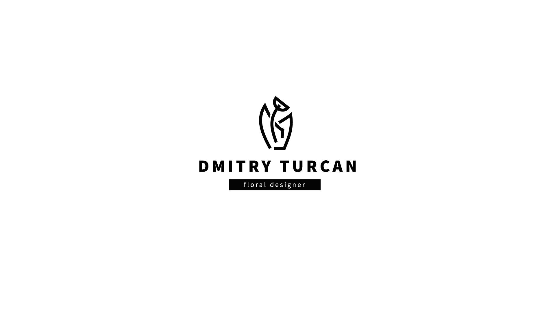 Логотип для дизайнера флориста