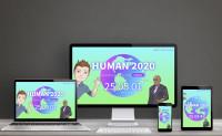 Одностраничное приложение HUMAN2020
