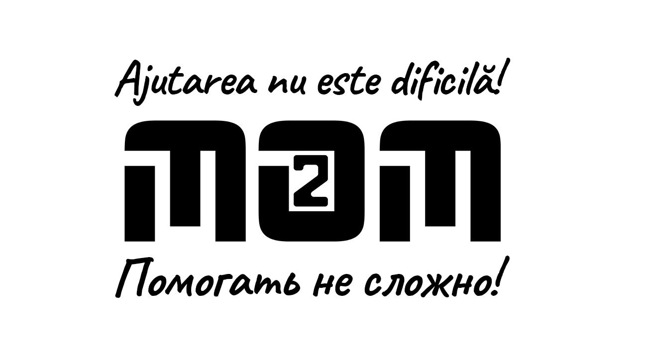 Разработка логотипа для краудфандинговой платформы om2om.md фото f_2585f5ef08eeada2.jpg