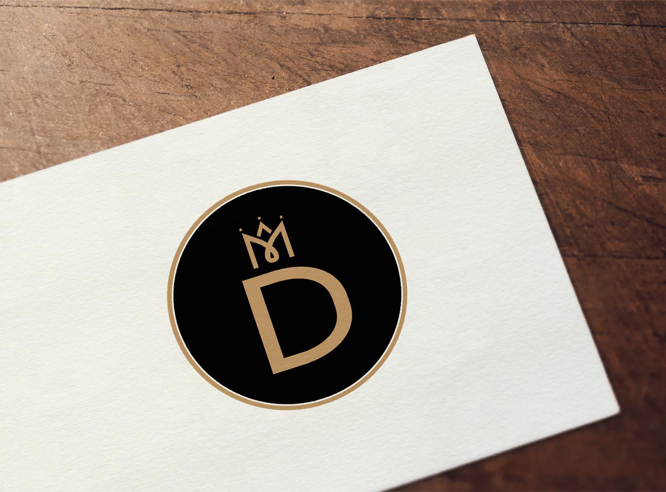 """Отрисовка логотипа """"MD"""""""