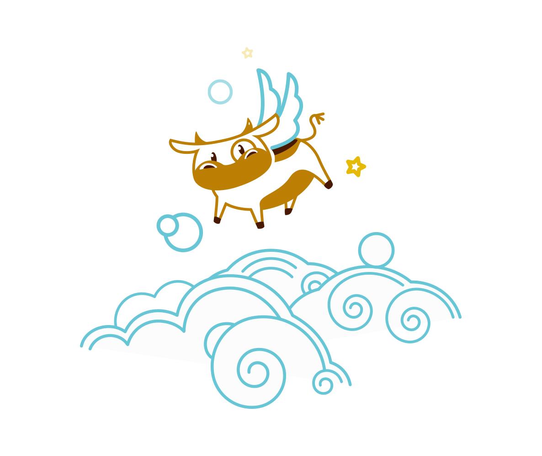 Создать рисунки быков, символа 2021 года, для реализации в м фото f_3945ee0c5f94d0a5.jpg
