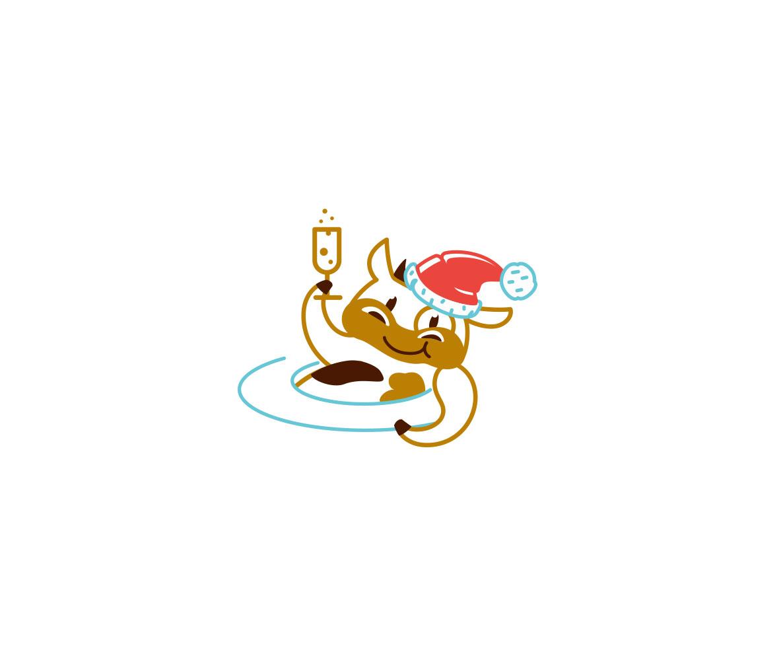 Создать рисунки быков, символа 2021 года, для реализации в м фото f_6825ee38b6ca76fb.jpg