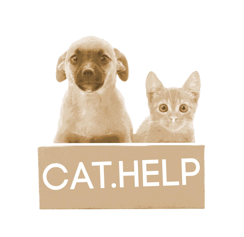 логотип для сайта и группы вк - cat.help фото f_30159dc475cd80f6.jpg