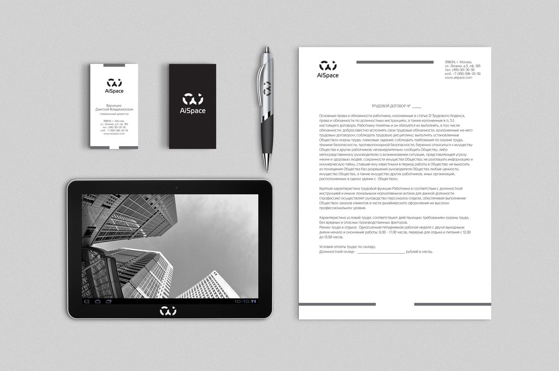 Разработать логотип и фирменный стиль для компании AiSpace фото f_49151aee05e0b59c.jpg