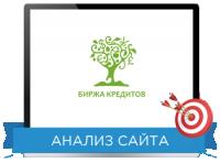 Юзабилити сайта: Биржа кредитов Направление: Инструмент прибыли ИМ