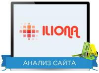 Юзабилити сайта: Iliona Направление: Светодиодные экраны