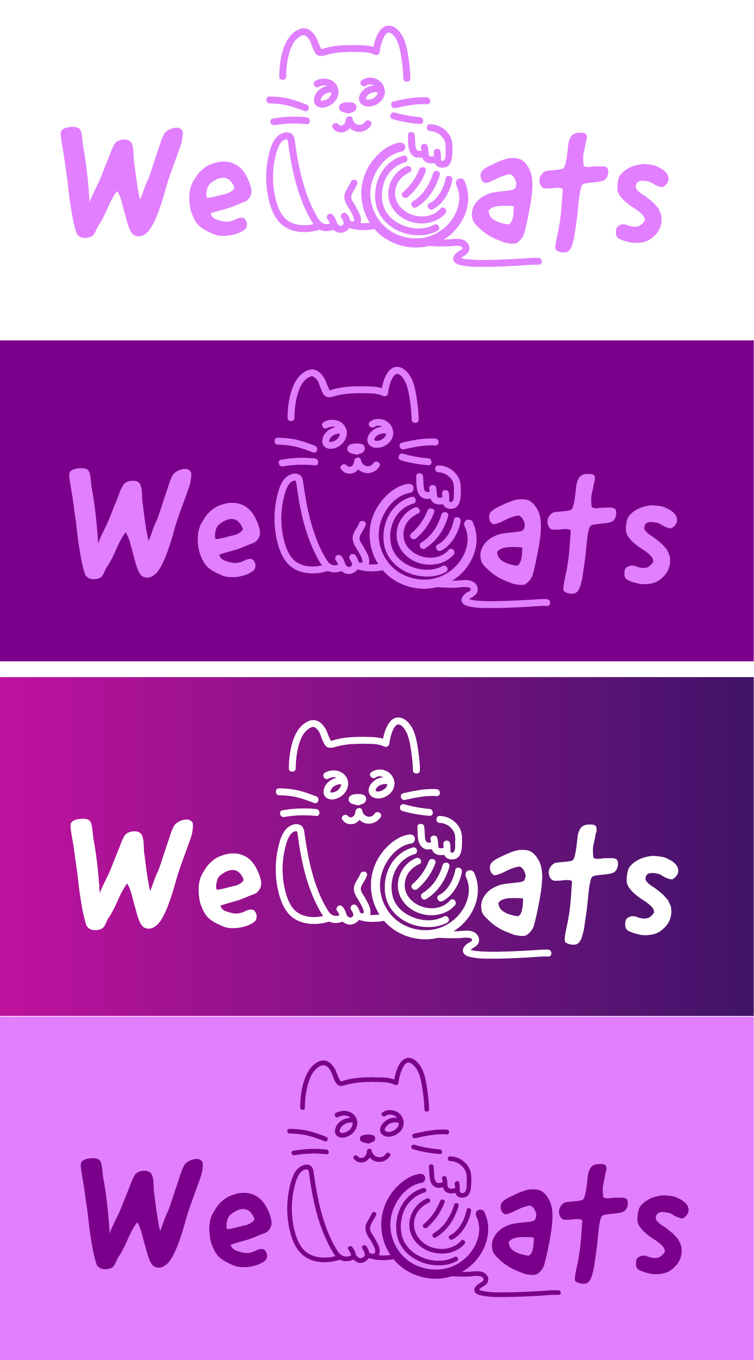 Создание логотипа WeCats фото f_9115f1b3961ea115.jpg