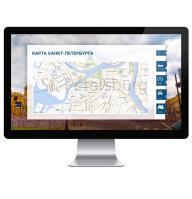 Интерфейс для интерактивного экрана (Санкт-Петербург)