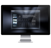 Интерфейс для интерактивного экрана (судостроительная компания)