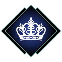 Корона и имя машинная вышивка