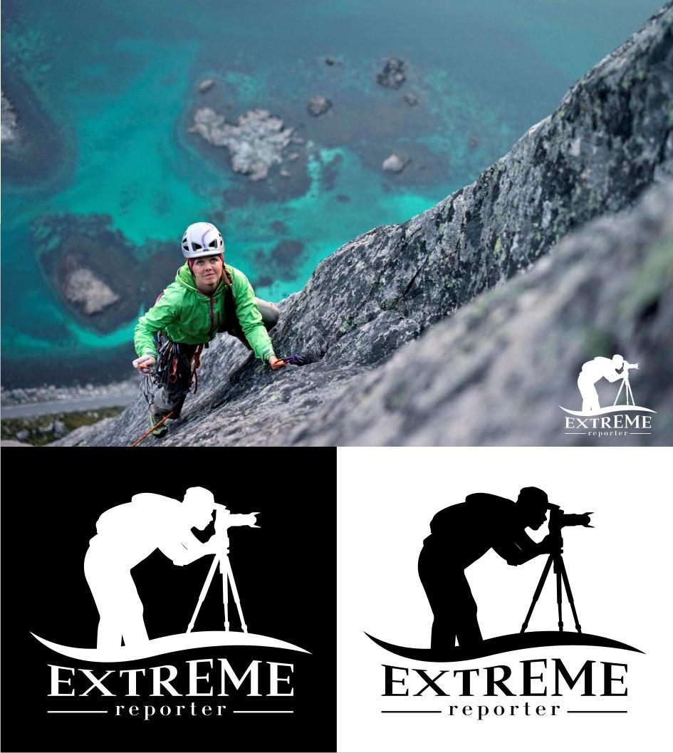 Логотип для экстрим фотографа.  фото f_8145a5326660f0ca.jpg