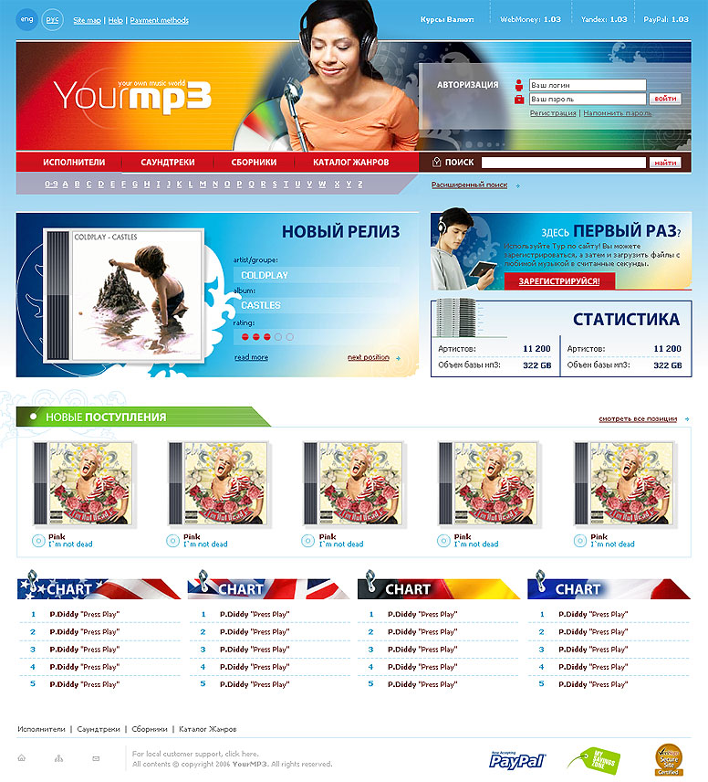 MP3 Store