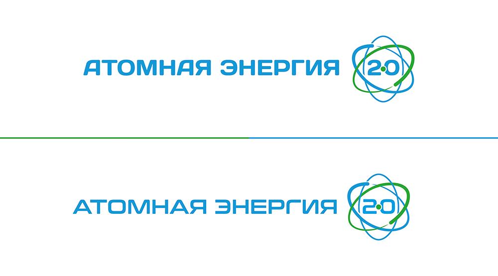 """Фирменный стиль для научного портала """"Атомная энергия 2.0"""" фото f_05559fd90966f83e.jpg"""