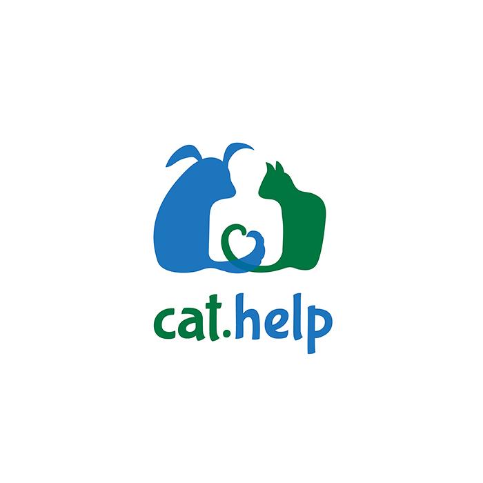 логотип для сайта и группы вк - cat.help фото f_13559dc3d78a337e.jpg