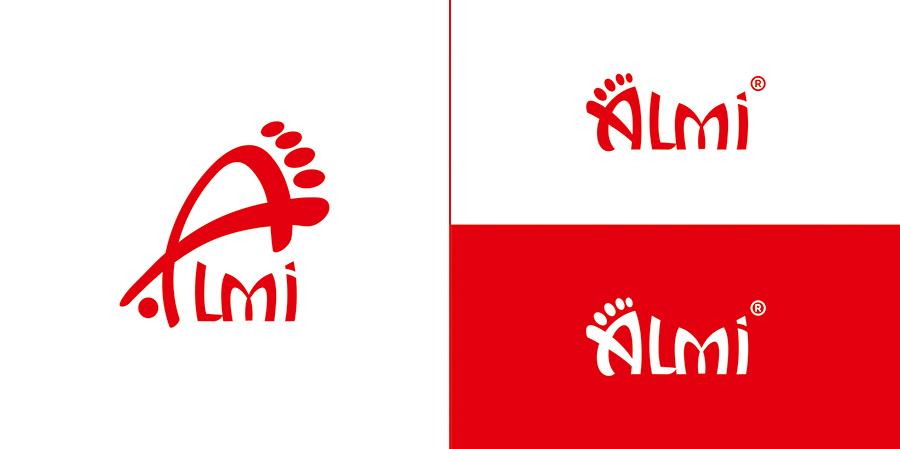 Дизайн логотипа обувной марки Алми фото f_37059fb2152b033c.jpg