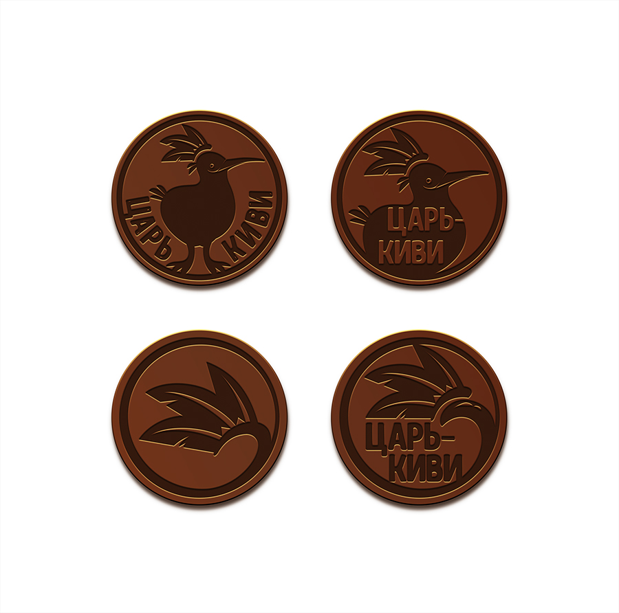 """Доработать дизайн логотипа кафе-кондитерской """"Царь-Киви"""" фото f_7435a07bed6da157.jpg"""