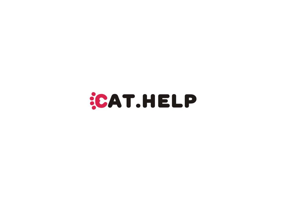 логотип для сайта и группы вк - cat.help фото f_13459dc6fea25083.jpg