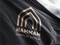 Логотип компании по проектированию Хаммамов