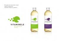 Вариант айдентики для этикетки витаминного напитка