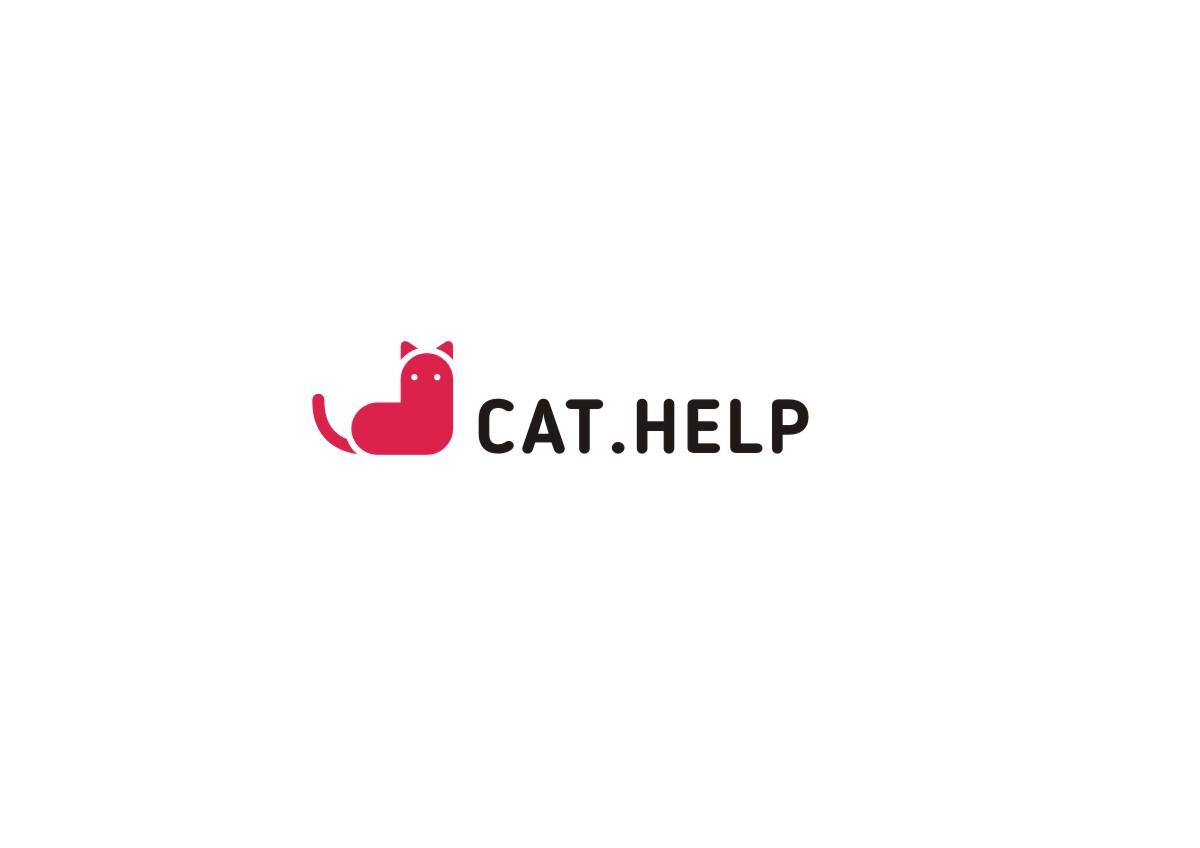 логотип для сайта и группы вк - cat.help фото f_33459dc674dd995f.jpg