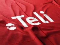 Логотип для компании доменных имен и хостинга Teli (победа в конкурсе)