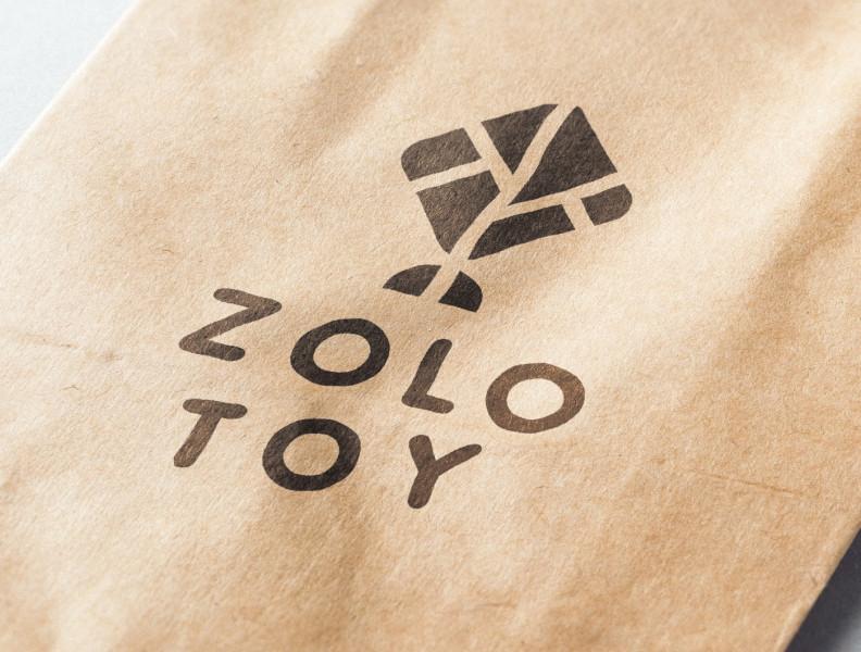 Брендинг магазина игрушек из дерева Zolotoy