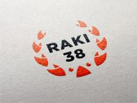 Логотип компании по продаже раков и морепродуктов в Иркутске Raki 38