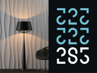 Логотип для студии обоев и декора Офис 285 г. Орел