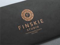 Логотип агентства по организации мероприятий Finskie, Гродно (победа в конкурсе)